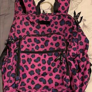Vera Bradley cheetah print large backpack